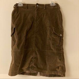 PRANA Corduroy Skirt Sz. S